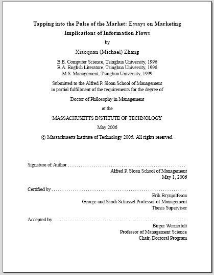 Phd Dissertation Help Latex