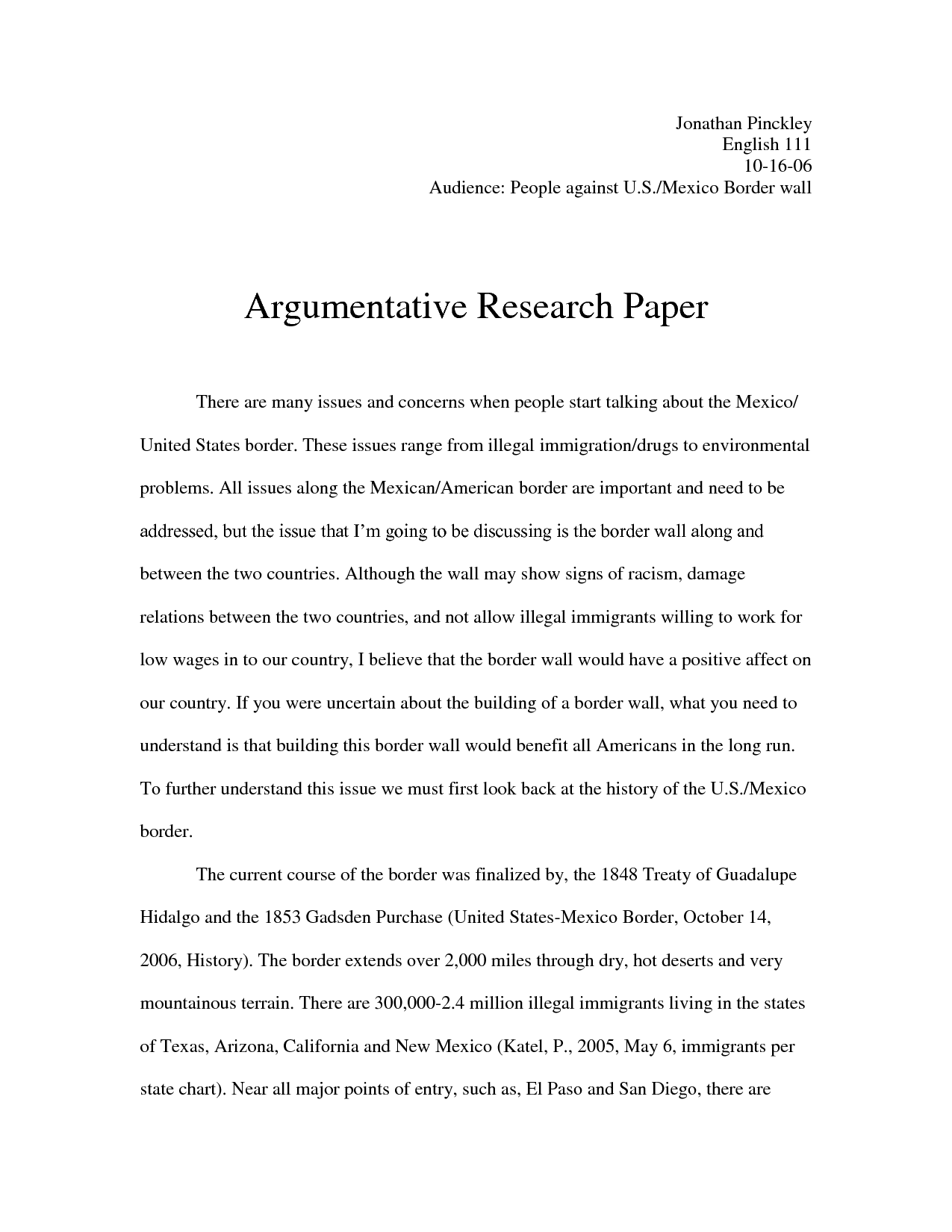 argumentative research paper format coursework service