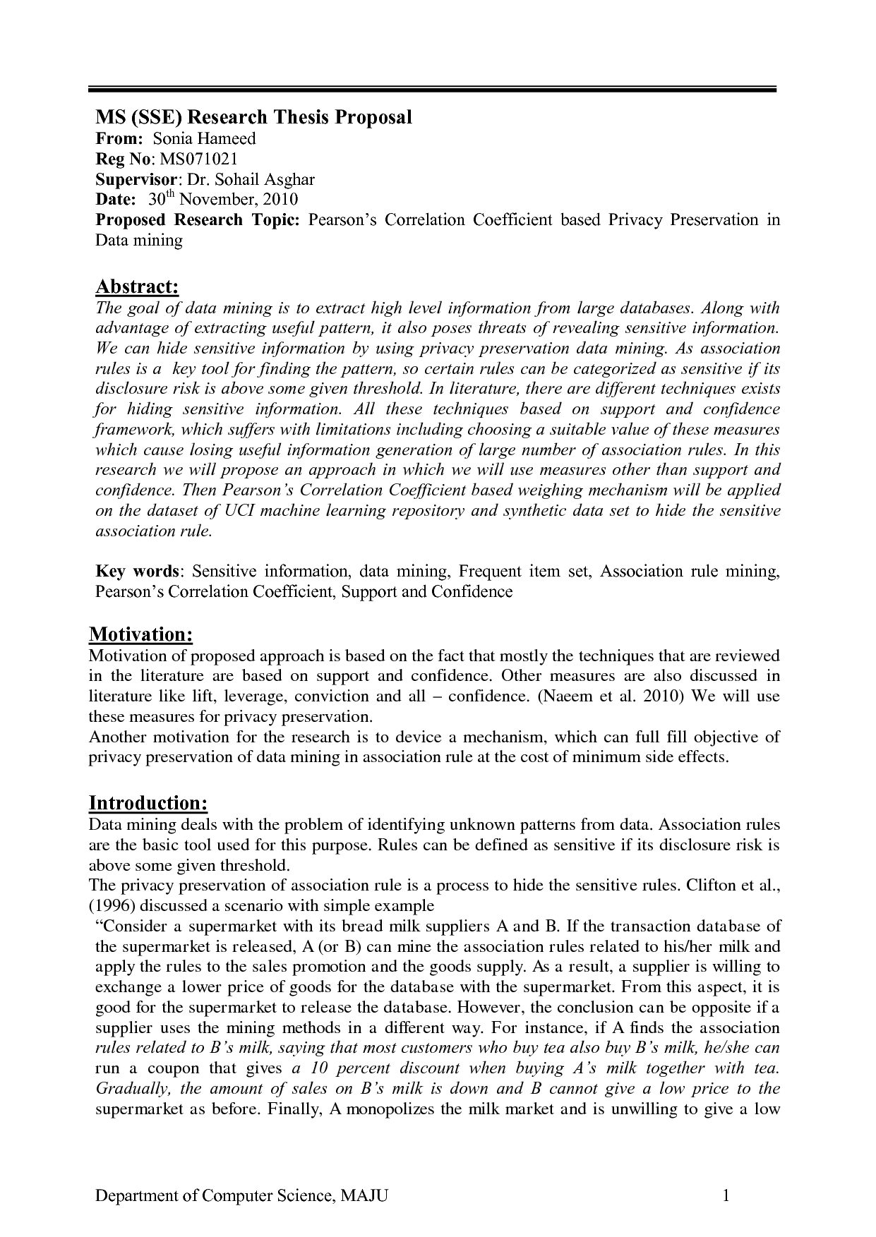 Phd thesis proposal sample social science