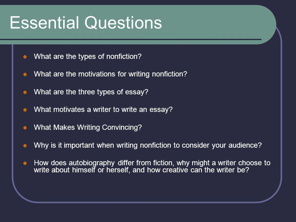 essay writing essentials Write a clear, specific, and well connected thesis understand the organization of essay paragraphs develop detailed, specific, and appropriate body paragraph content revise to ensure your writing is thorough, specific, detailed, and effective edit for spelling and grammatical mistakes using helpful.