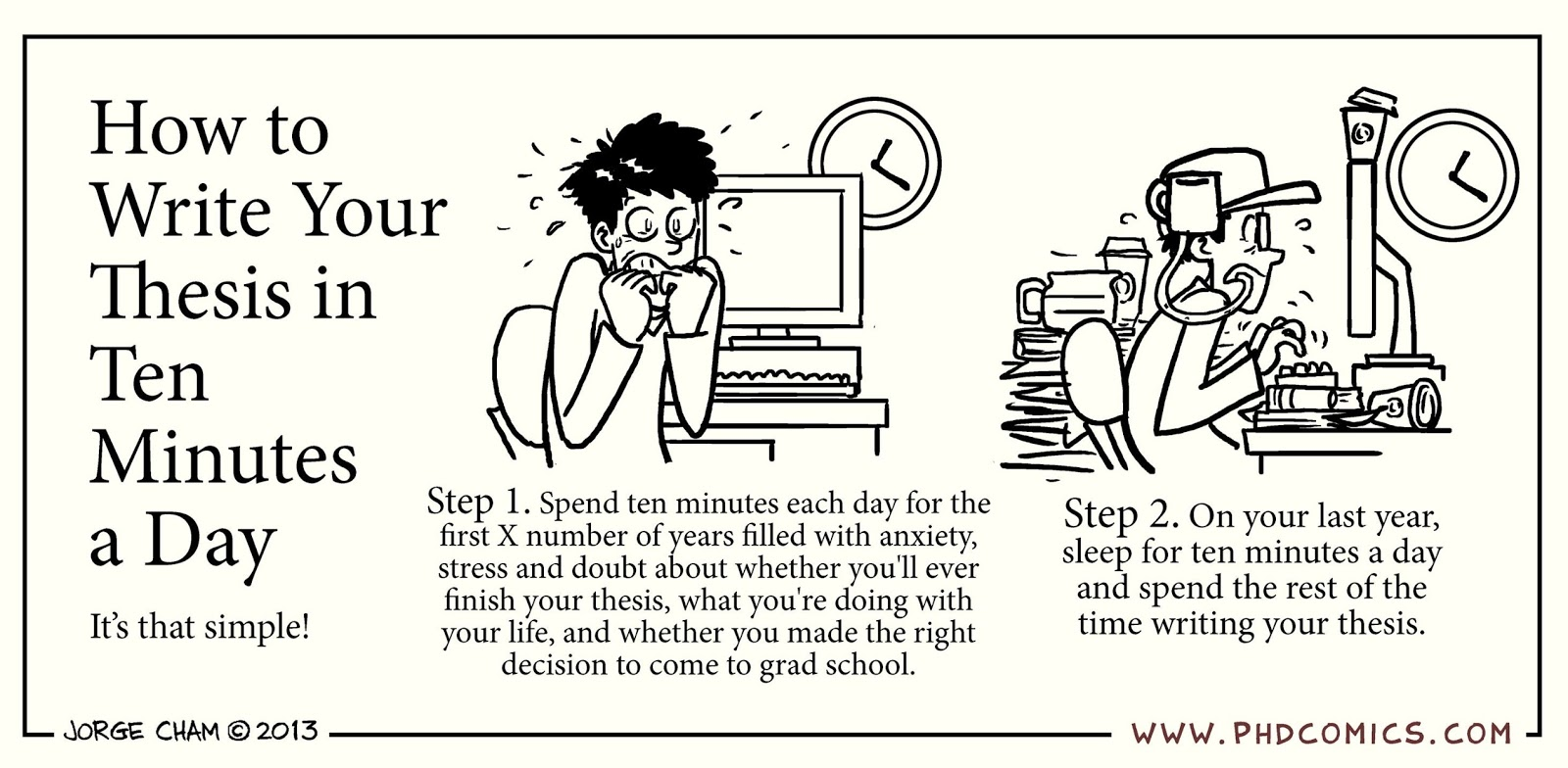 writing masters thesis tips Writing an overview of your project is designed not only to formally announce your intentions as far as your master's thesis goes, but also to help you become more fluent in and informed about the topic for your project 7-8 double-spaced pages should probably be enough.