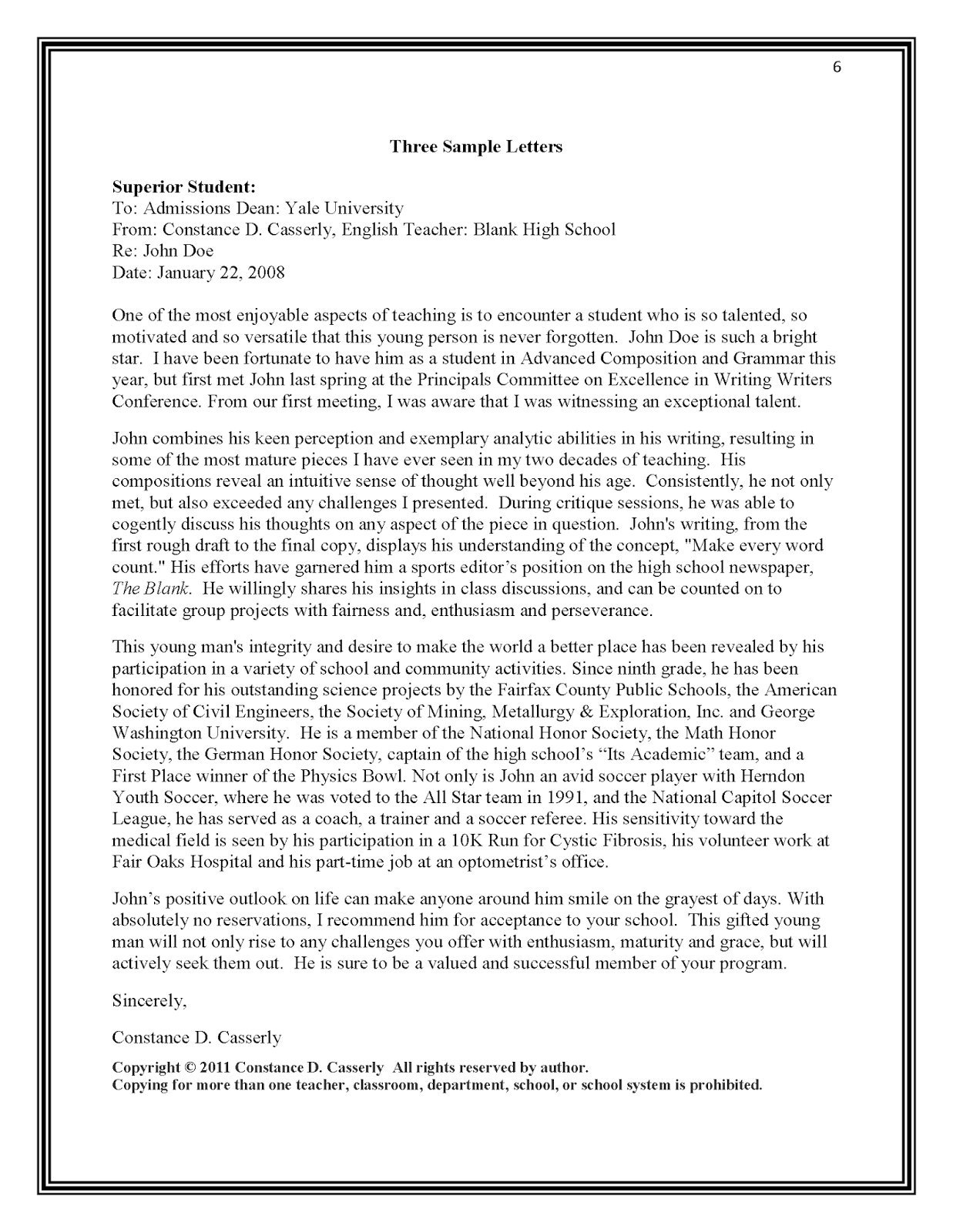 Letter Of Recommendation Template For Teacher from davidsonrealtyblog.com