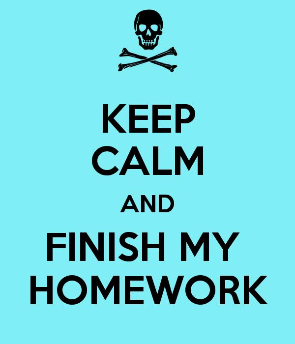 i need to do my homework