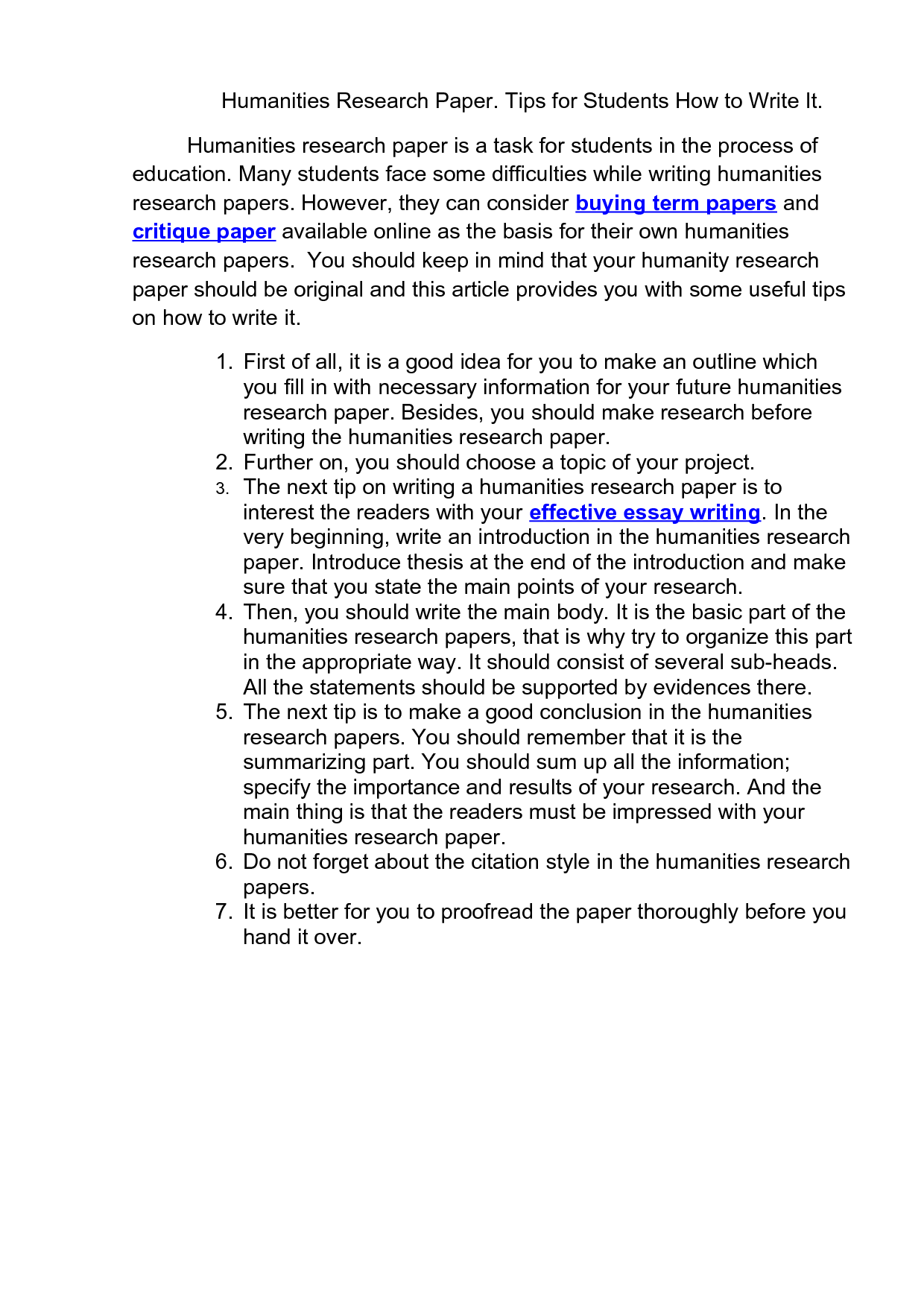 good research paper tips To help students get up to speed on basic research skills, here's 10 tips to help you find, organize, and use the information you need to put together a decent research paper advertising schedule.