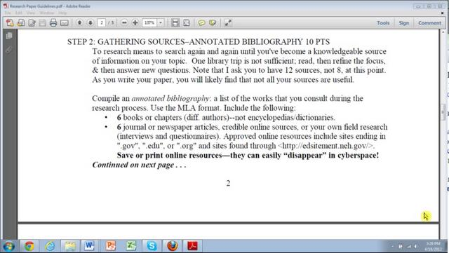 Annotated Bibliography Editing Website Uk