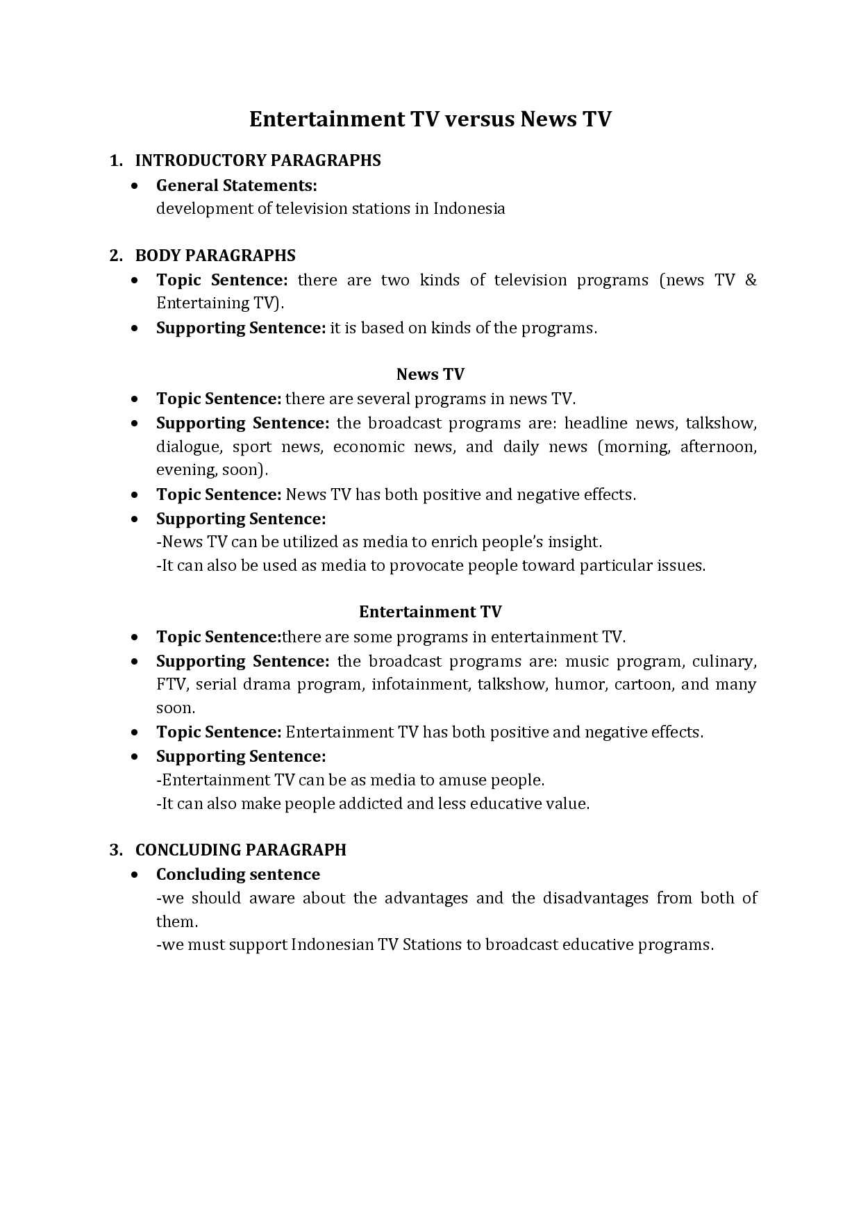 Persuasive Speech Outline Template        Free Sample  Example     Template net Essay writing on national unity