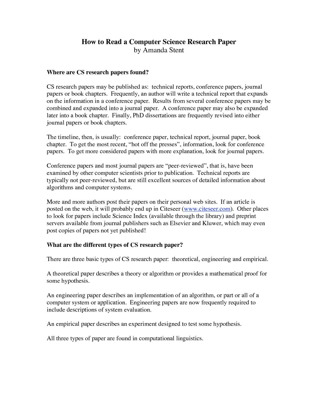apa format science fair research paper