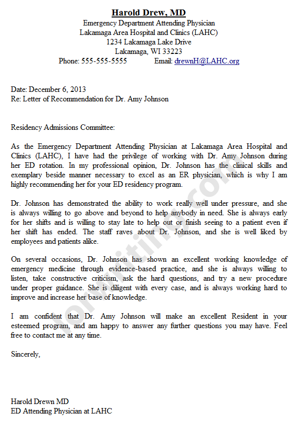 Top Letter Of Recommendation Writing Services 2013 Get Involved
