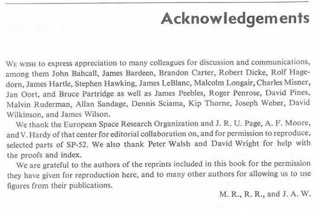 Dissertation acknowledgements section