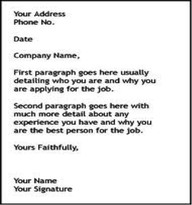 How To Do A Cover Letter For Resume