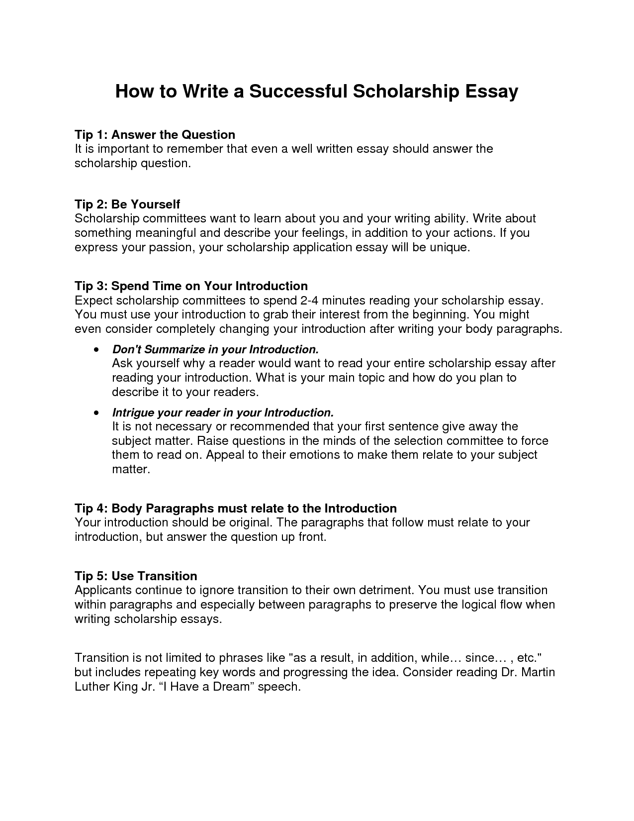 How to write an essay in english language
