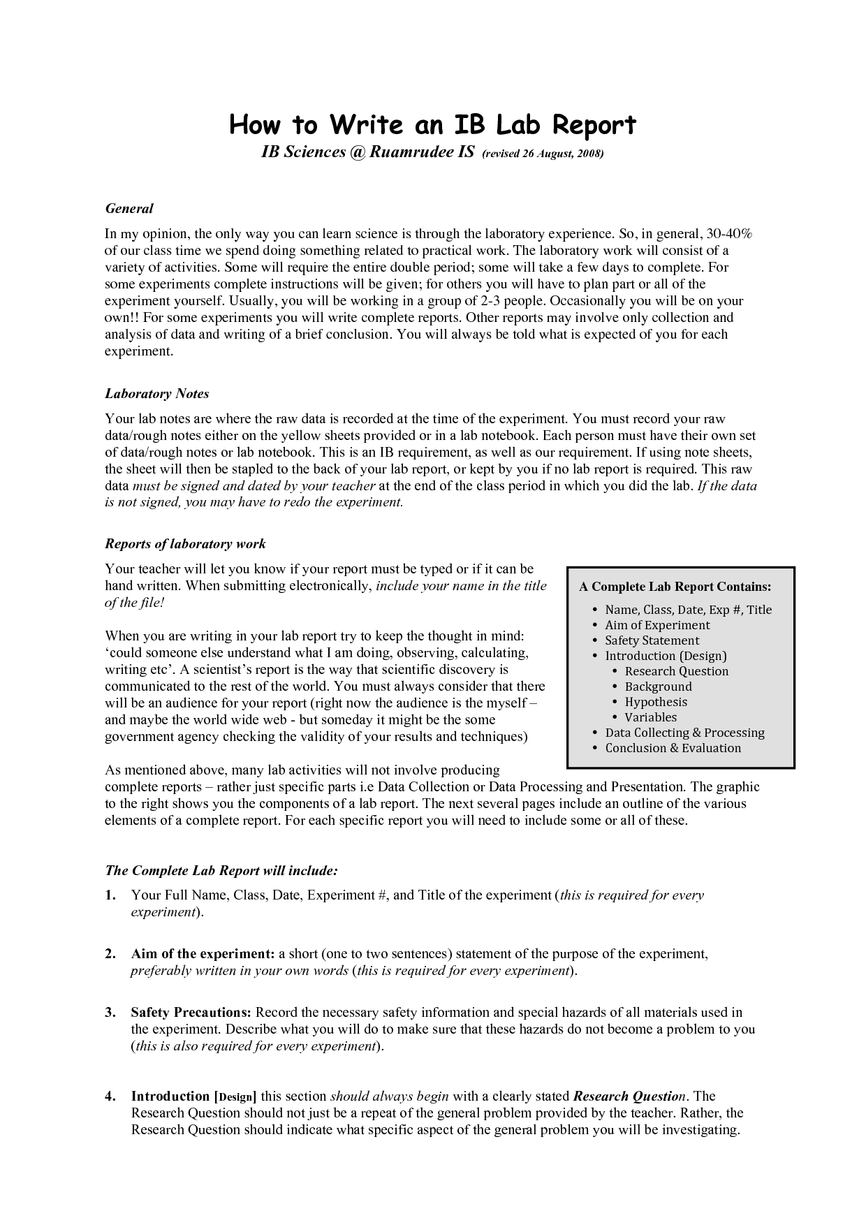 essays and research reports level b Assignment 204 task b research and account identify two reports on serious failures to protect individuals from abuse.
