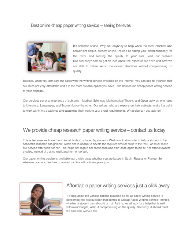 Research paper writer services food and beverage