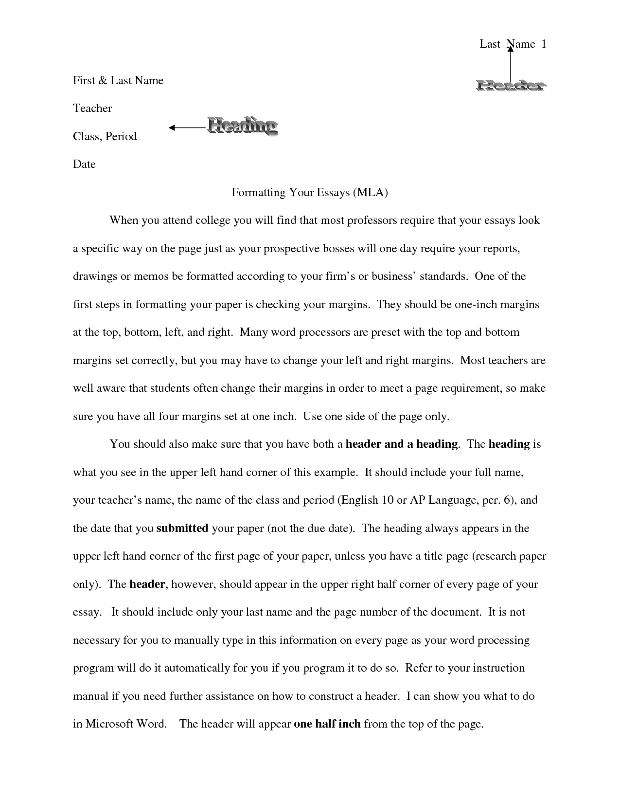 college essays mla style This tutorial will show you how to set up your college essay using mla style formatting in microsoft word mla style essay o'reilly, with the mixe–zoquean.