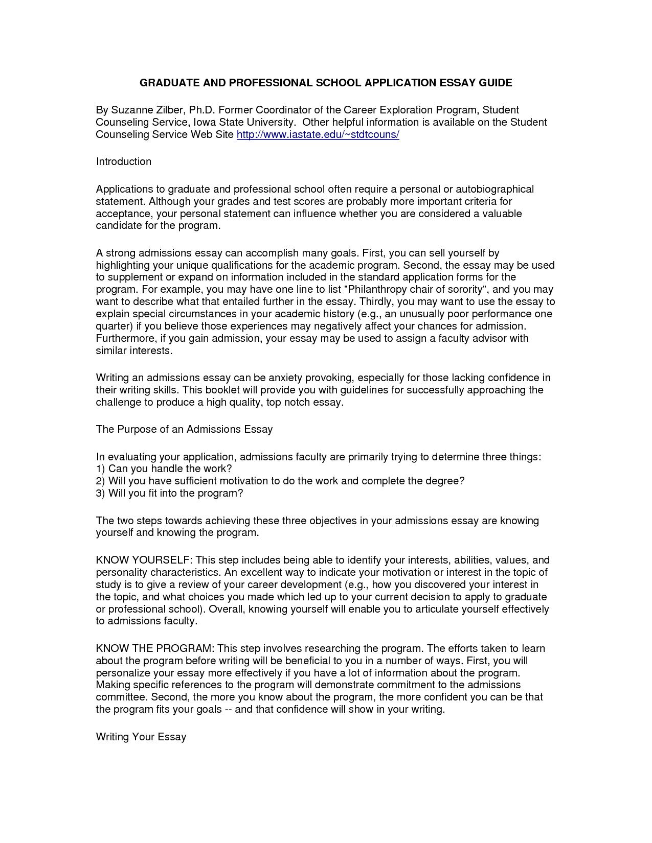Stanford hamburger college personal statement essay