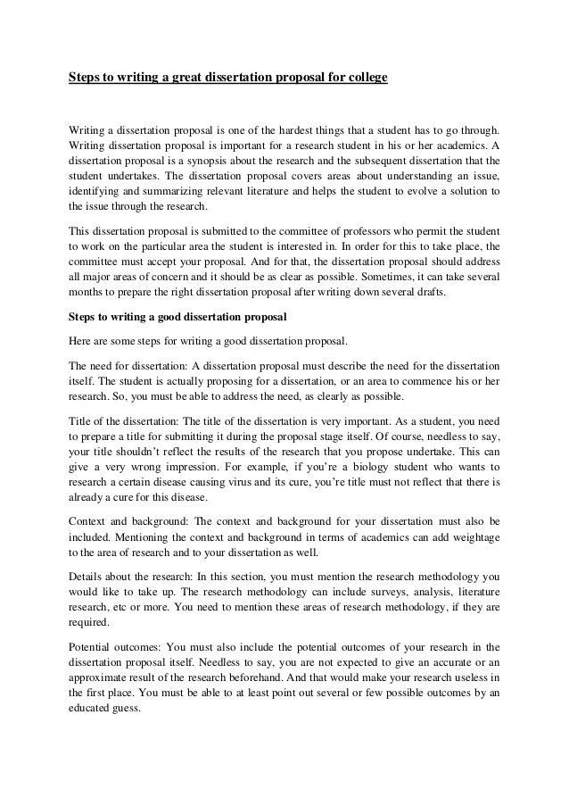 history dissertation proposal example