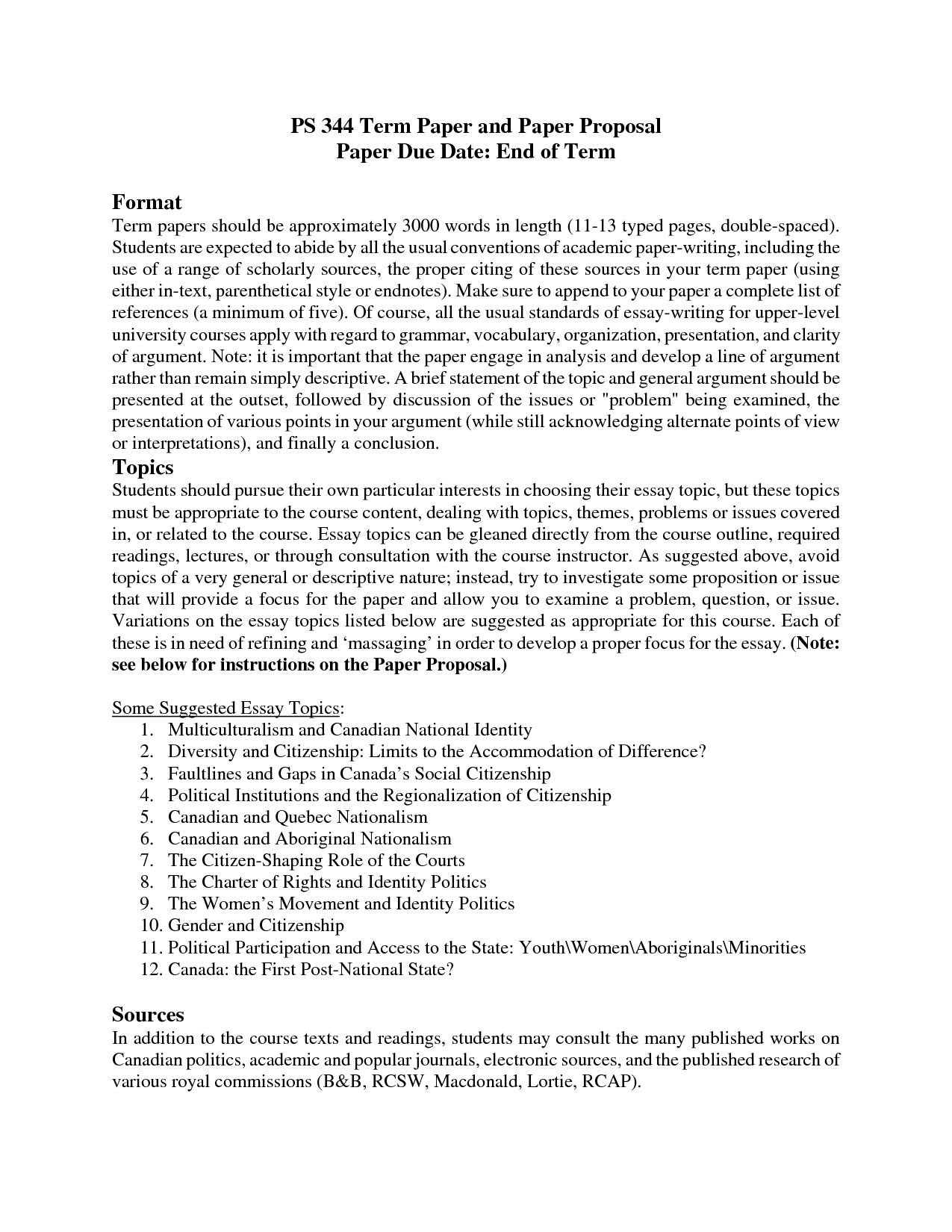 term paper proposal 1 sample research paper proposal krista feichtinger great books asian classics – prof fenkl final project proposal shamanism: an.