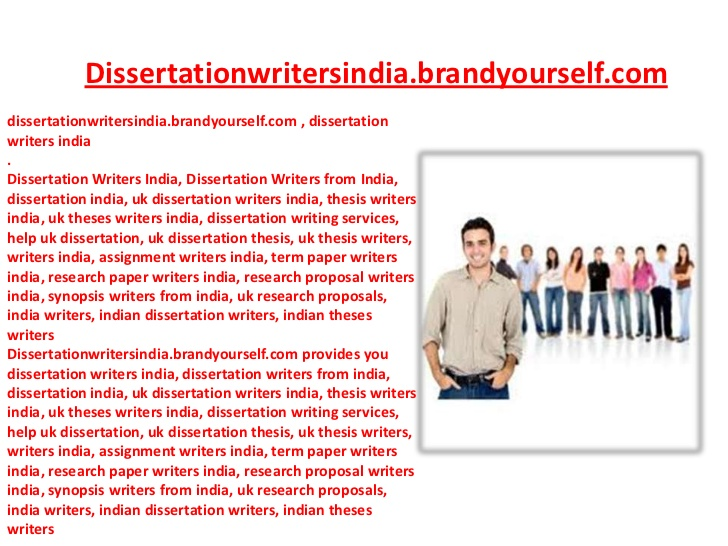 Dissertation Proposal Service Background
