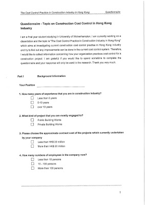 Pay for dissertation questionnaire
