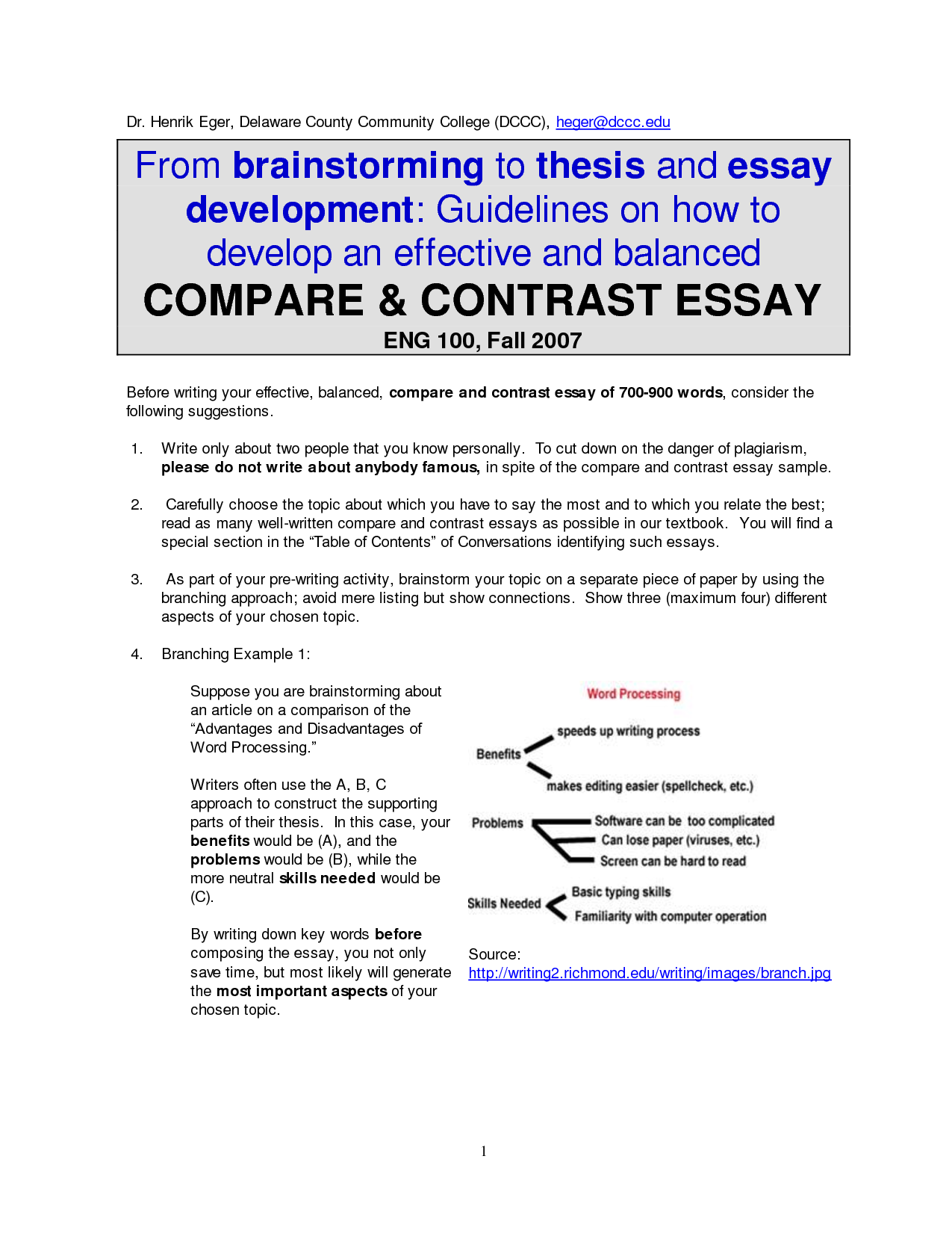 do compare and contrast essays need a thesis Homework task (essay): to compare and contrast how harper lee's novel to kill a mockingbird and tate taylor's film the help represent experiences within well i am writing an essay on why love is a life affirming experience and i cant think of a thesis sentence which is basically the 3 reasons i need.