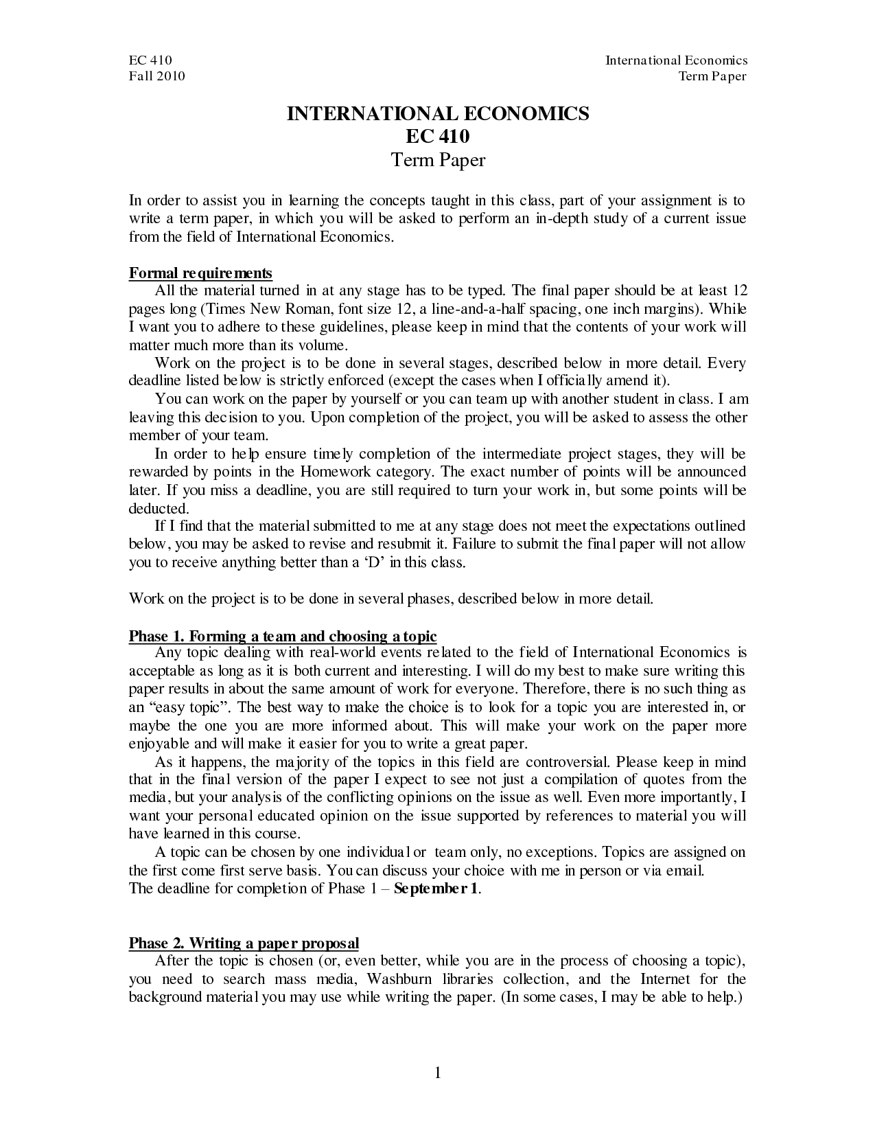 term paper writing guidelines