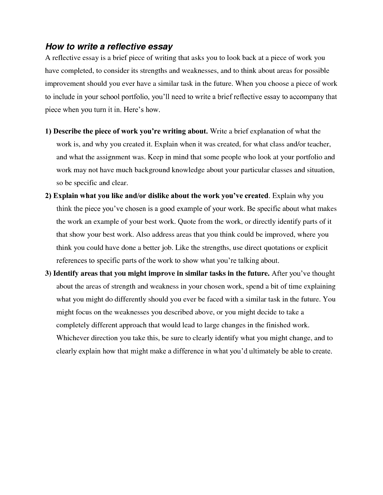 academic self reflection essay Academic self reflection essay research - creative writing for p5 @kaytiismythe happy new year lovely today might be my first day on the essay.