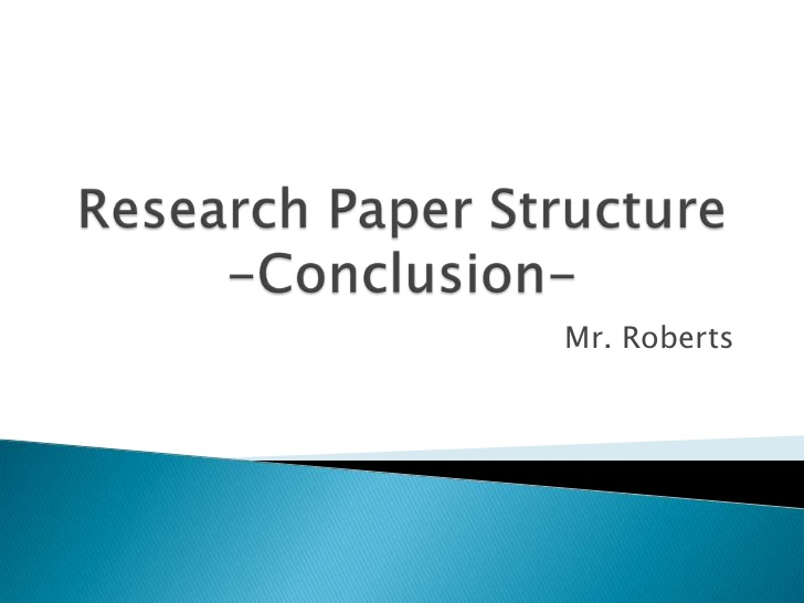 conclusion to research paper In this article you'll learn useful recommendation on how to write a conclusion to a research paper to receive an excellent grade for your project.
