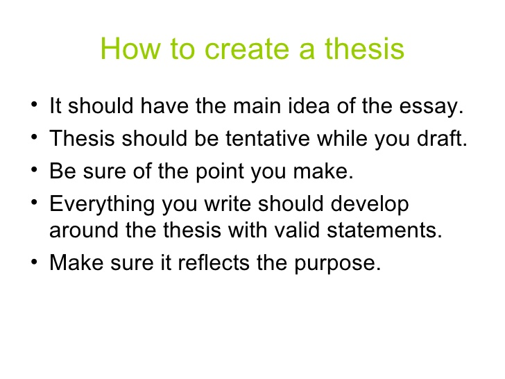 help create a thesis statements Where find best thesis writing services for a reasonable price get-essaycom is the professional writing site to give a try price will make you happy.