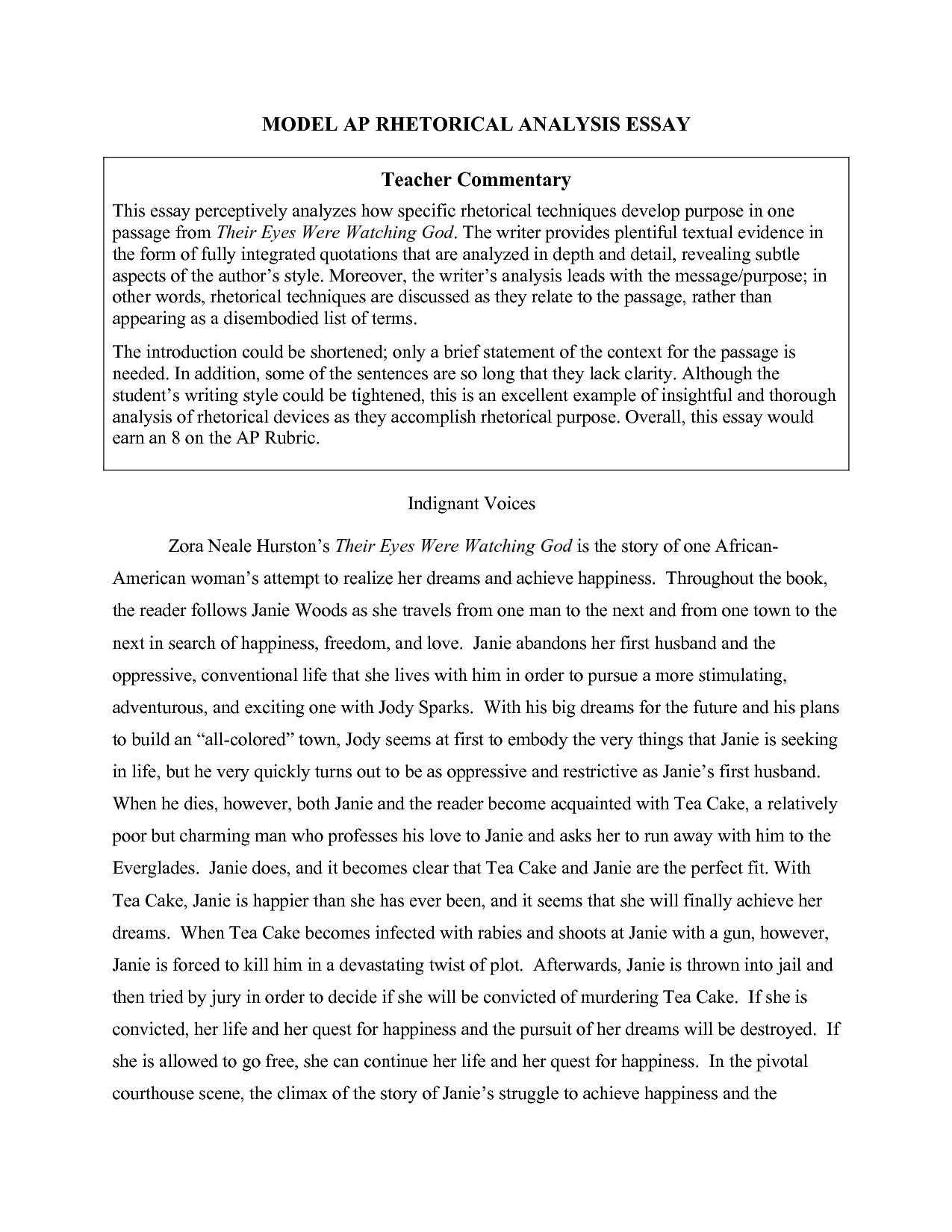 Writing a text response essay: notes, tips and sample paras