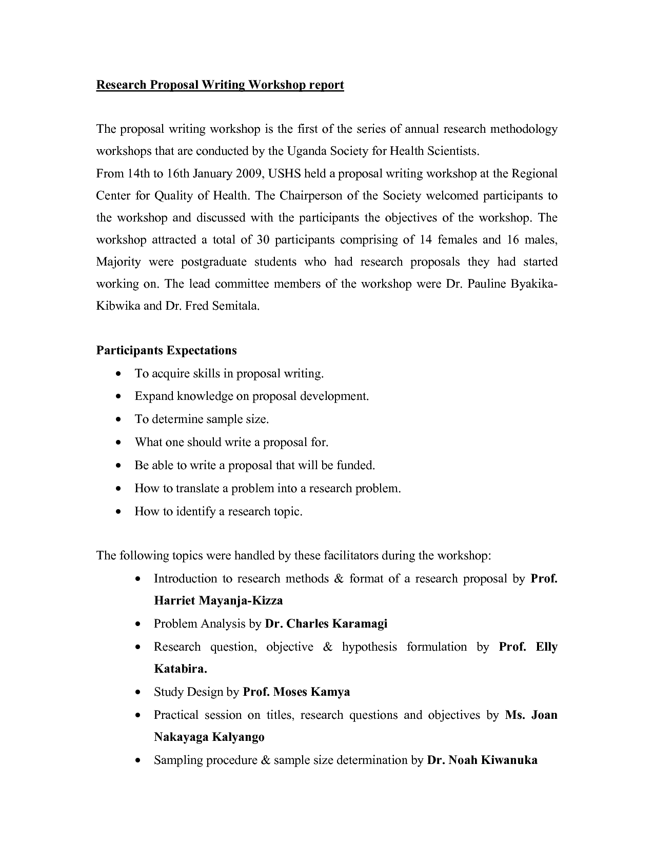 writing a proposal report Sample proposals for the writing guidelines for engineering and science students: guidelines to help students of science and engineering make their writing more.