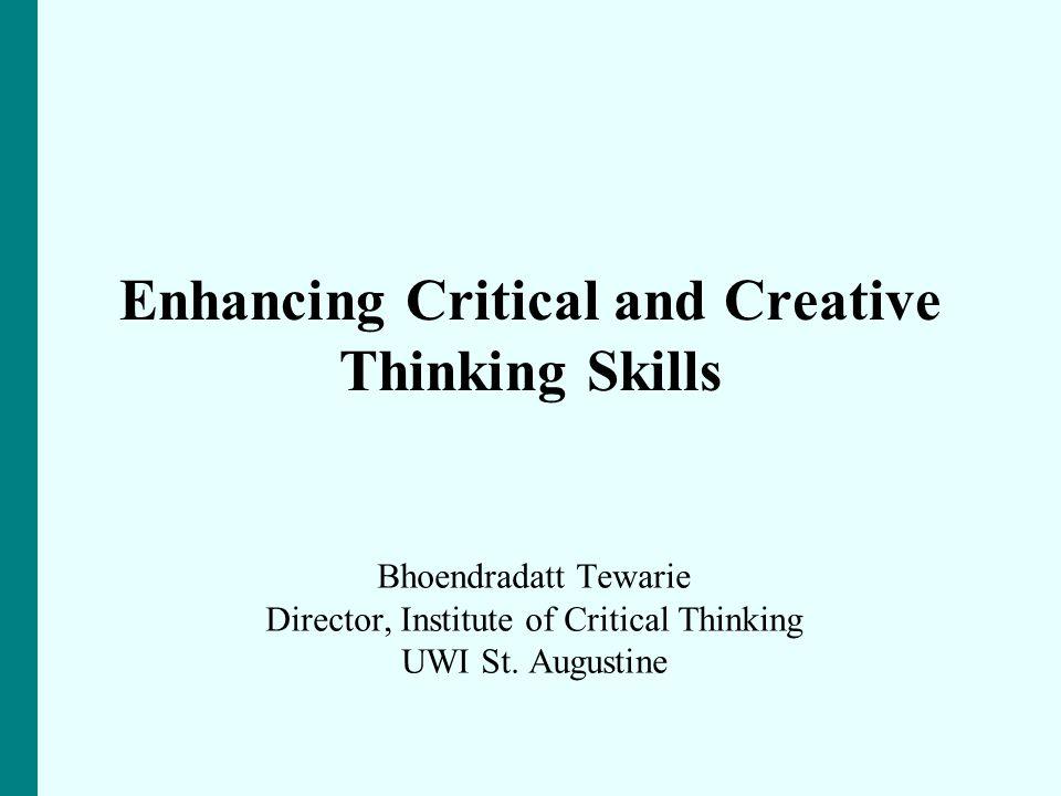 critical thinking institute uwi