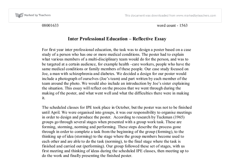 Reflective Essay Examples For High School Research Paper Sample  Reflective Essay Examples For High School Reflective Essay Prompts For High  School Students A Reflective Essay