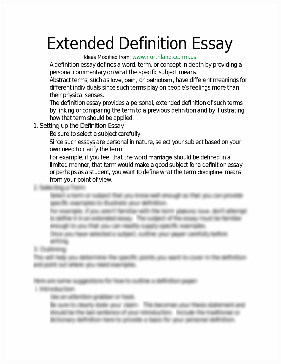 How to write your extended essay