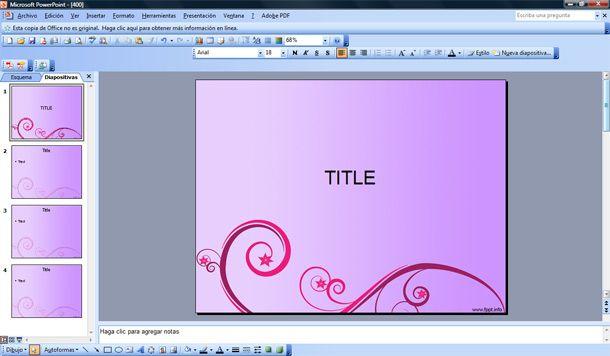 Ms powerpoint slides