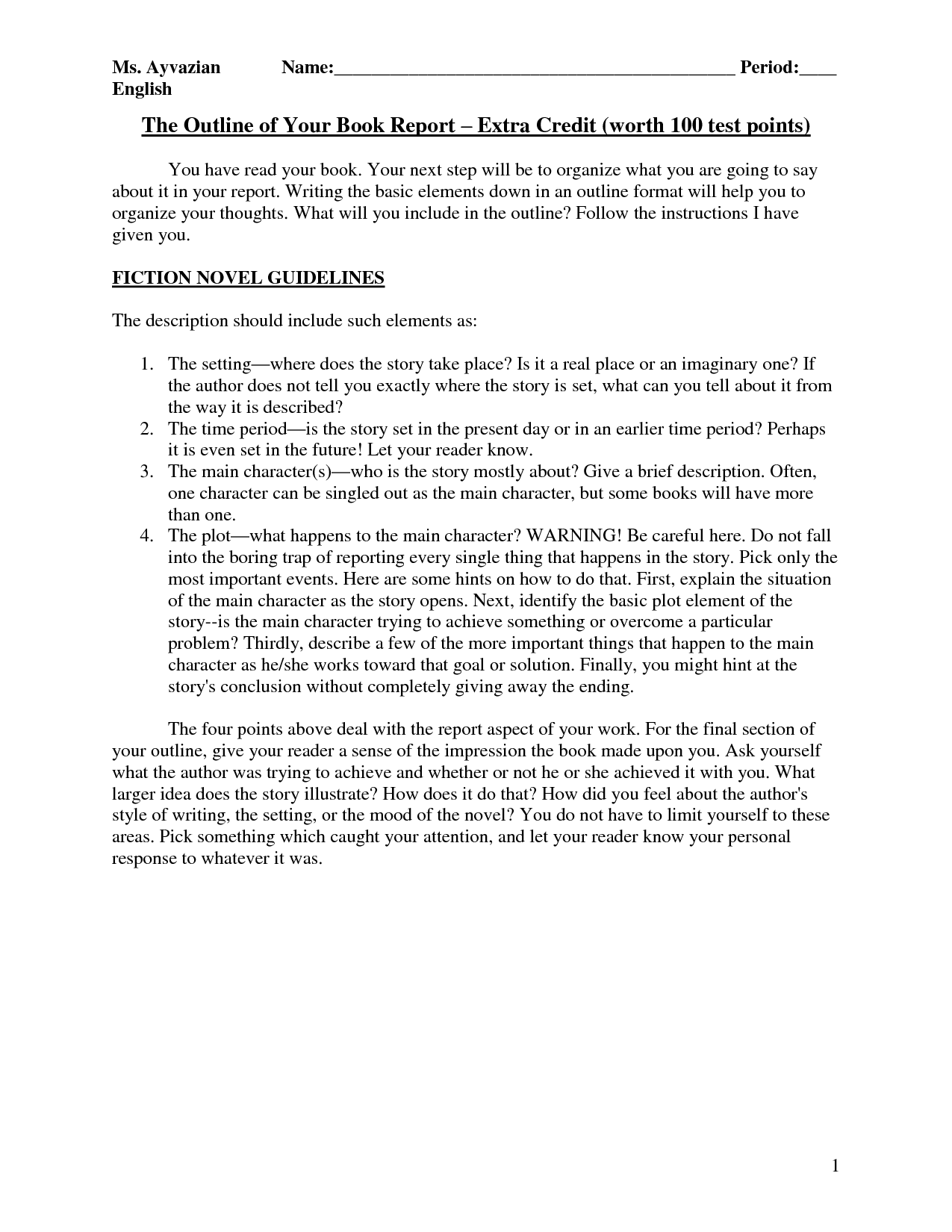 writing a book report 5th grade Research project handbook citing sources (introduce 4th grade) book heading/report 5 works cited writing a research paper.