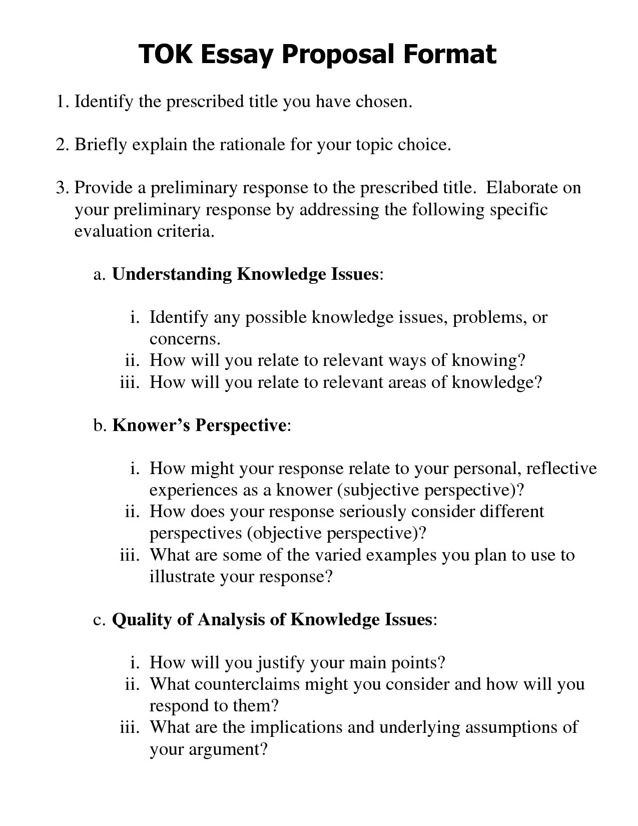 Science Fiction Essays Proposal Essay Essay Thesis Statement Examples also Essay For High School Students Proposal Essay  Exolgbabogadosco Essay Writing Format For High School Students