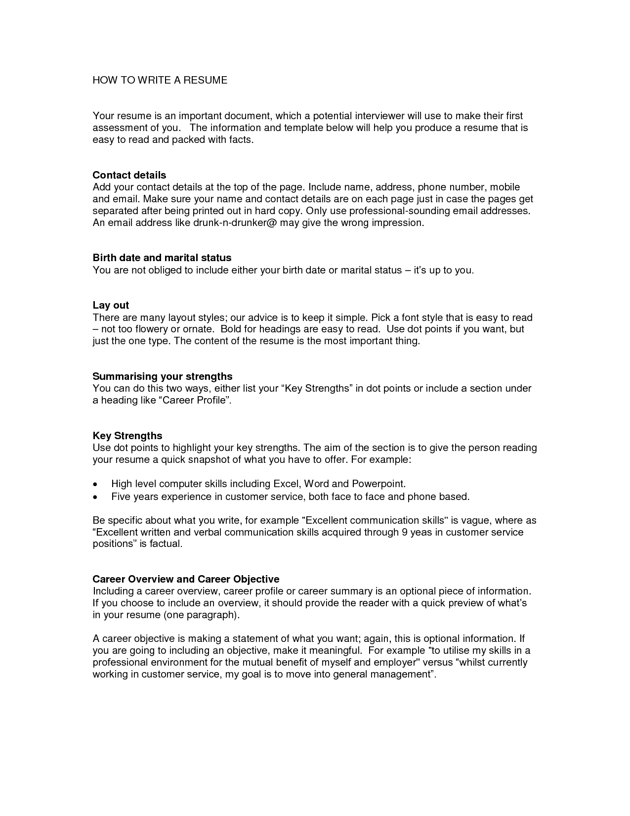 Help To Write A Resume Top Rated Writing Service