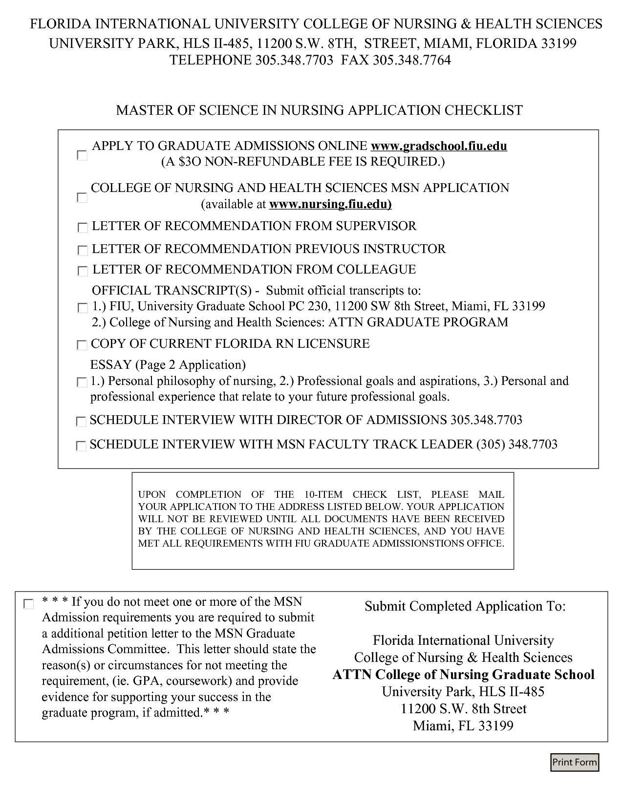 graduate school admission essay nurse practitioner Msn nurse practitioner admission requirements a written essay meet the university graduate school english language proficiency requirements.