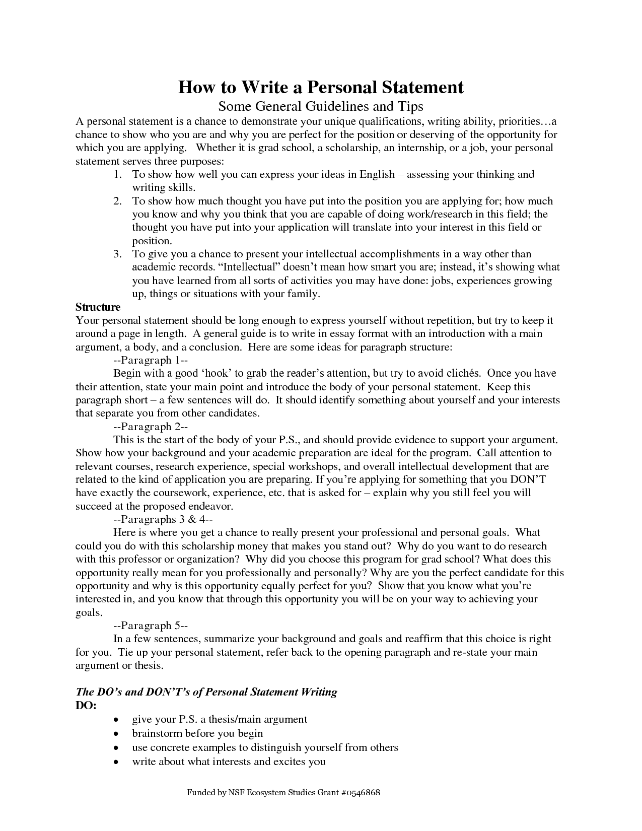 personal statement essay about yourself 2014-7-15  writing a personal statement the personal statement, your opportunity to sell yourself in the application process, generally falls into one of two categories.