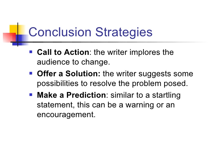 Best concluding sentences for essays