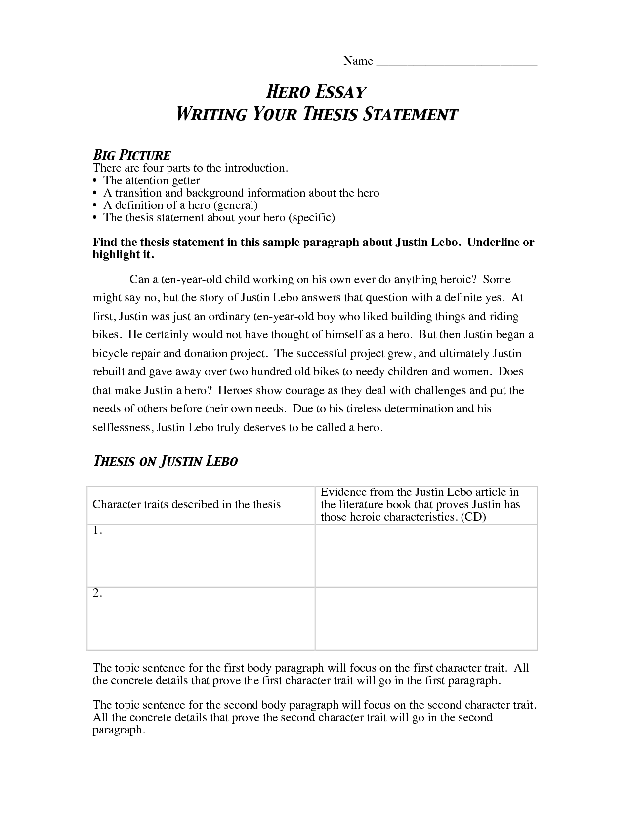 essay writing thesis statement  professional writing service