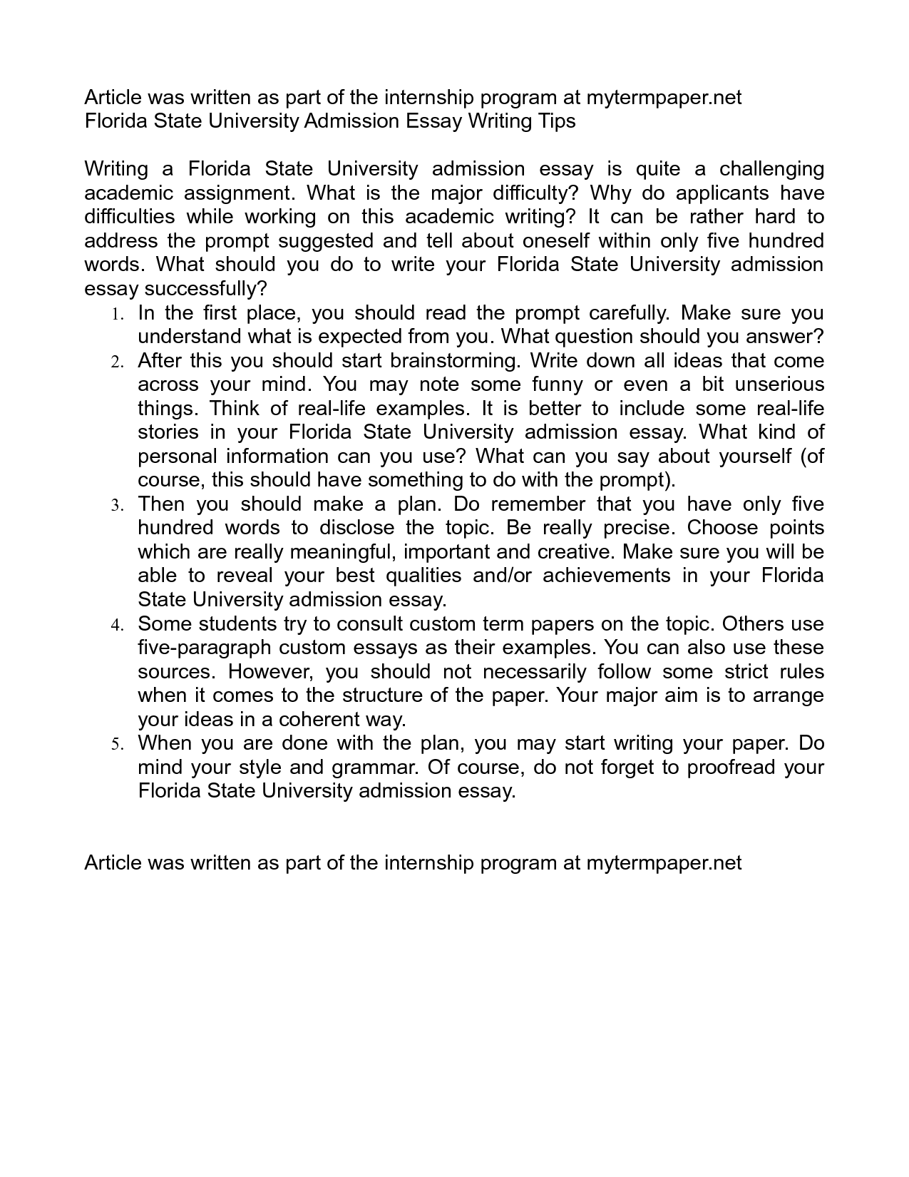 application essay for university sample Here are two sample college application essays from former students from last year the first was written by hannah metzler, who got accepted to 13 of the 14 college and universities she applied to (including university of pittsburgh and loyola university of maryland), and is excited to be attending the university of scranton next year to study .