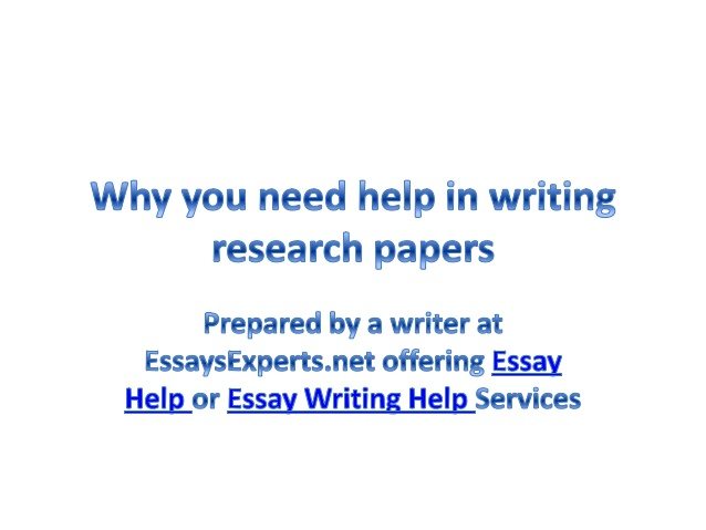 What if I'm in the process of writing my paper and I need help?