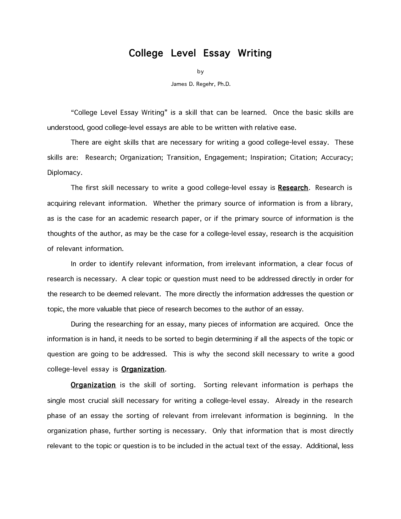 college essays writing help - Good College Essays Examples