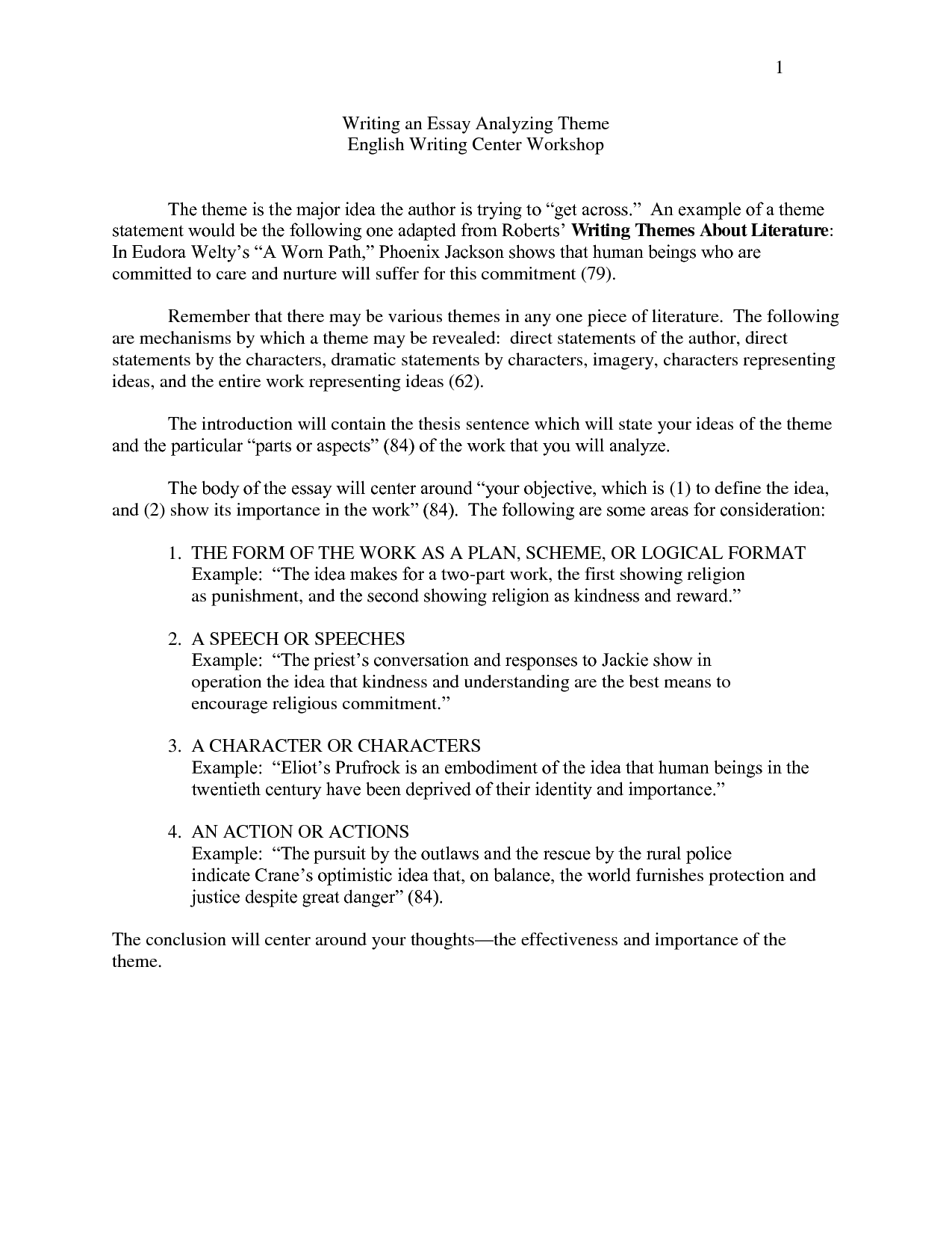 thematic essay outline Title: outlining the thematic essay: author: white plains city school district last modified by: white plains city school district created date.