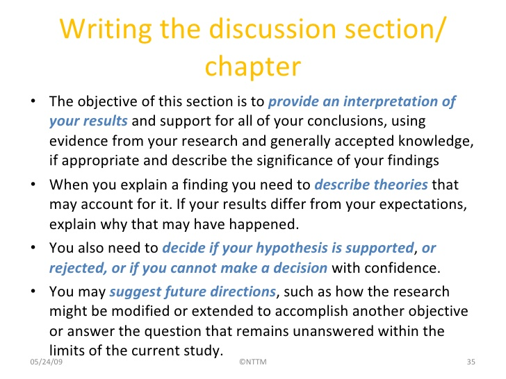results part of a dissertation The dissertation conclusion in such a format has to not only summarize the background, previous research, and results, but it must also determine the importance of the information presented and discuss its relevance for the future of the topic.