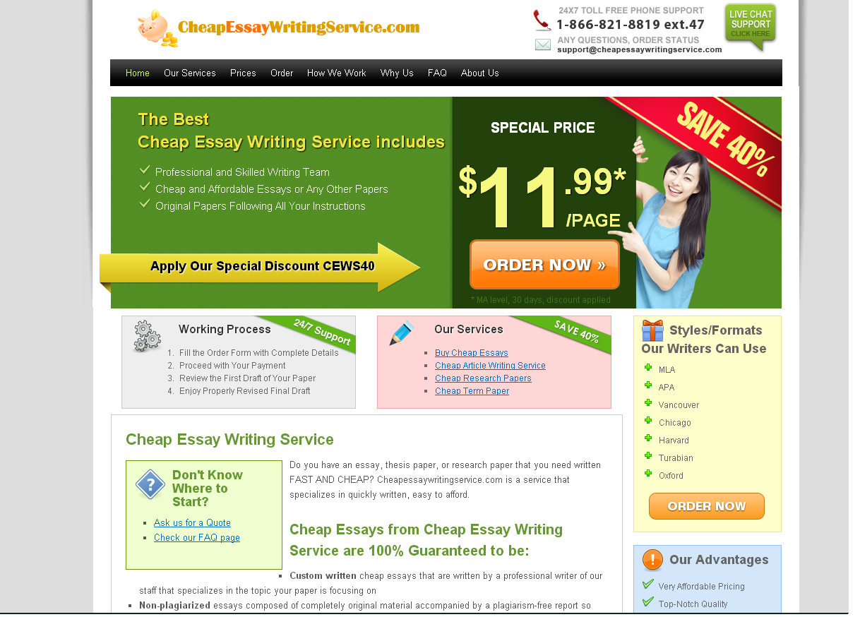 cheap custom essay writing This is the main reason why so many students are looking for a reliable custom writing service where they can buy essay for cheap affordable-papersnet is the best choice for every student  if you face any problems writing a essay, just contact our support representatives and order custom essay writing with no hidden fees.