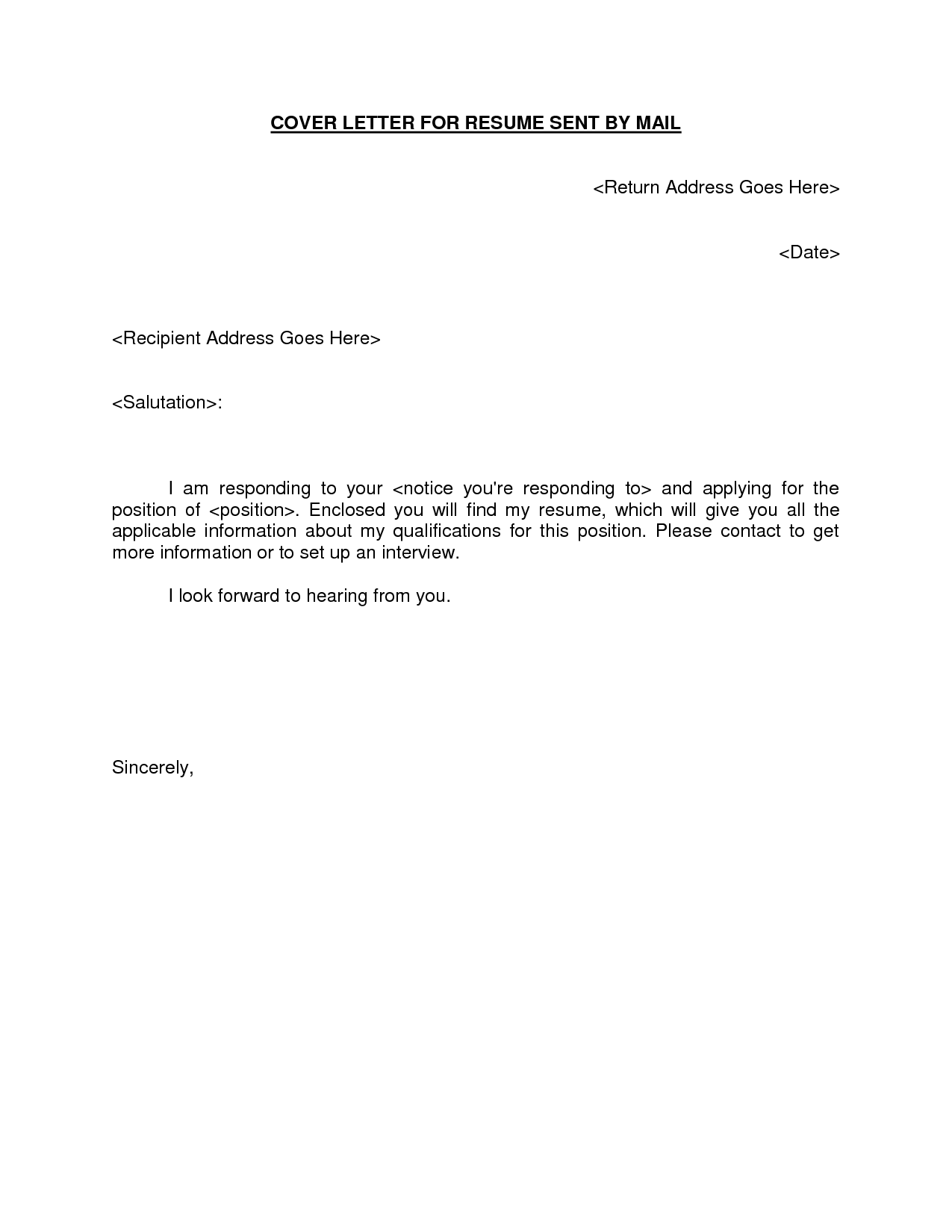 How To Properly Write An Address On A Resume  SpeakGrownupsMl