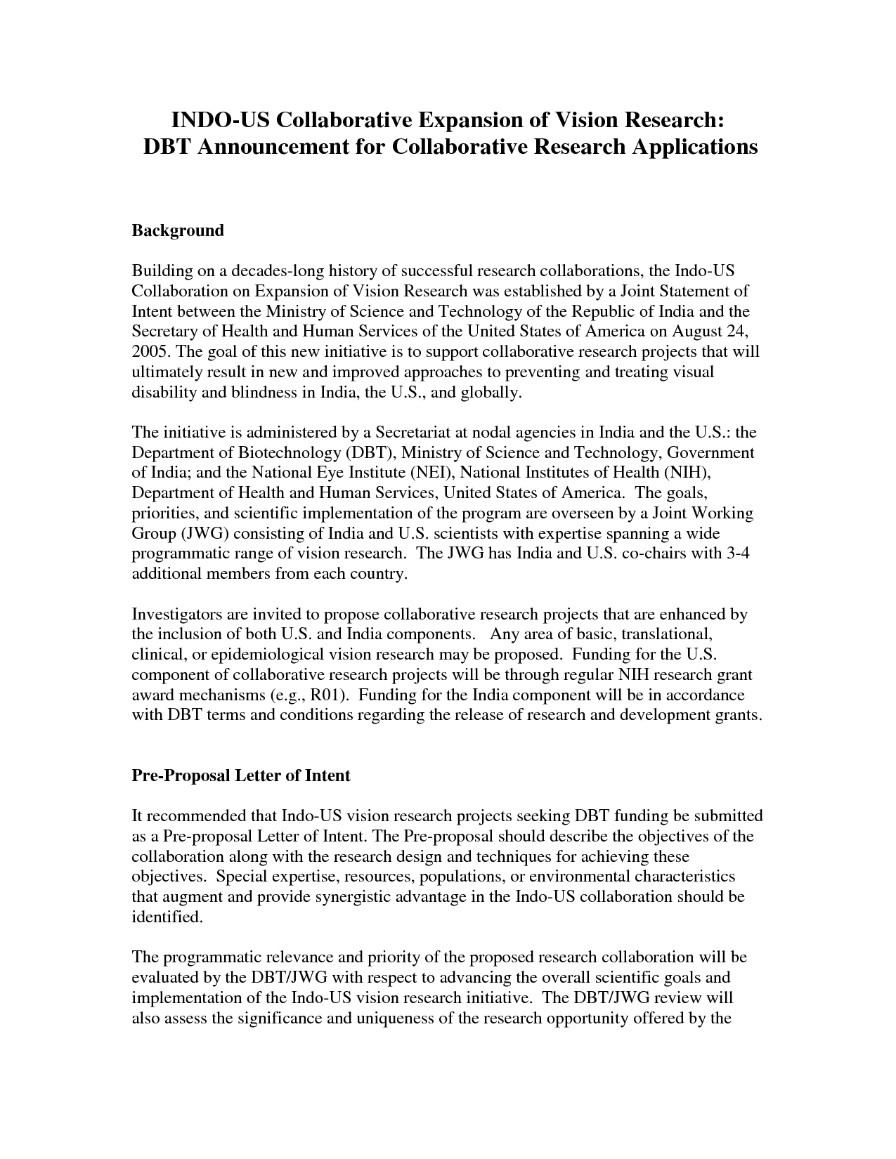 One page thesis proposal example – Example Proposal Letter