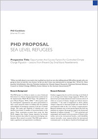 Phd Research Proposal Samples